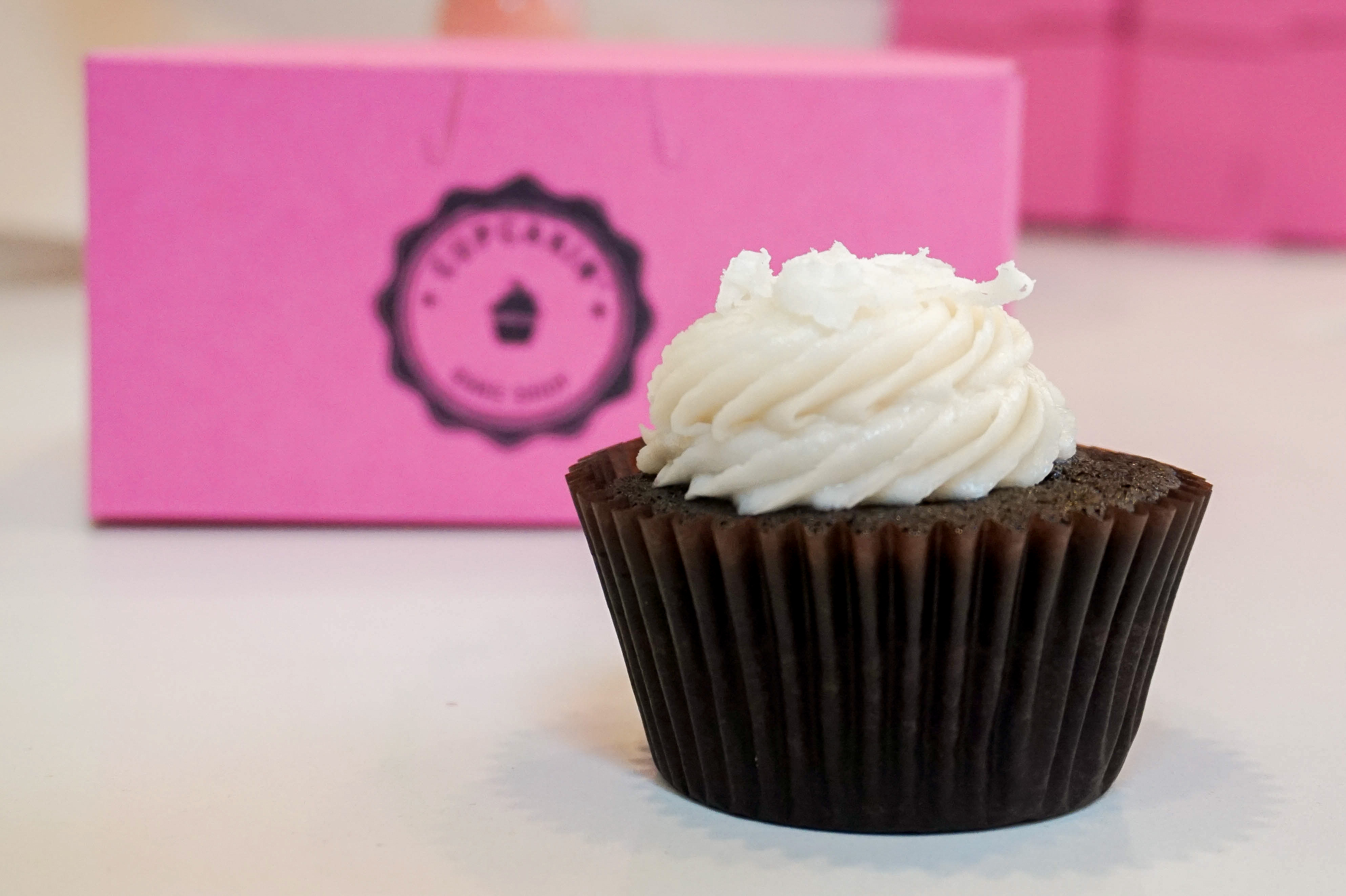 You are a Vegan Coconut Cupcake!