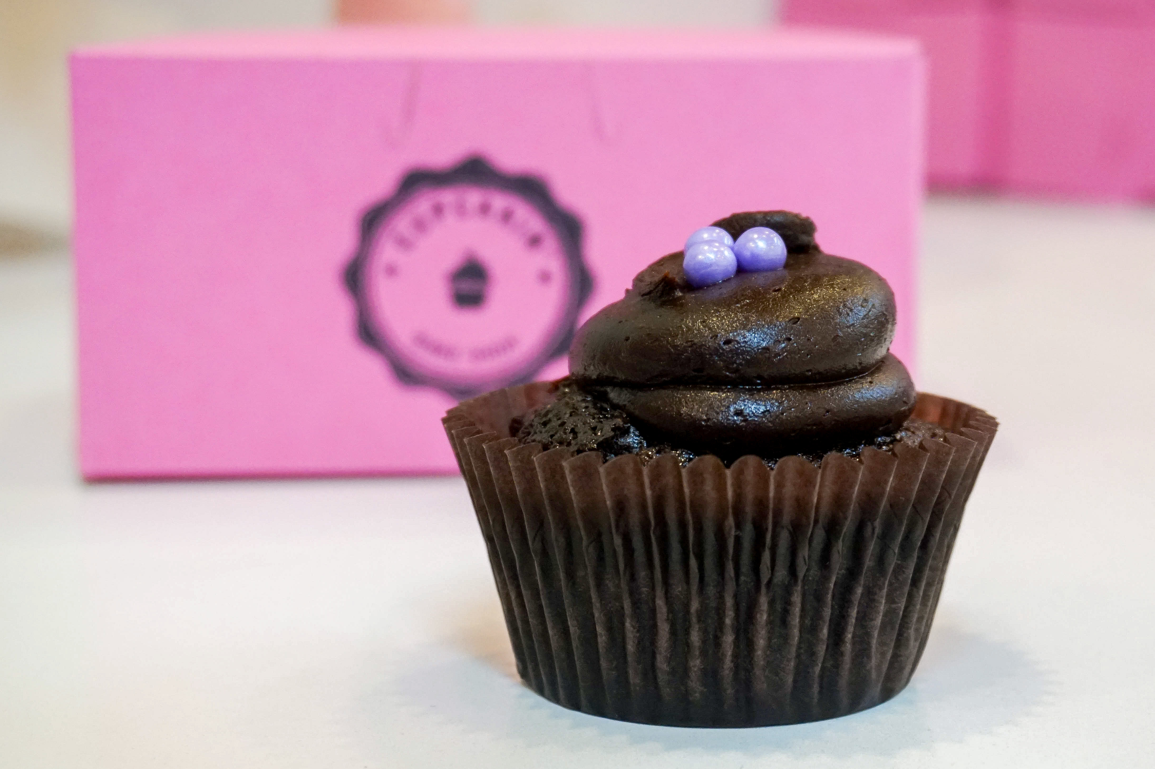 You are a Double Chocolate cupcake!