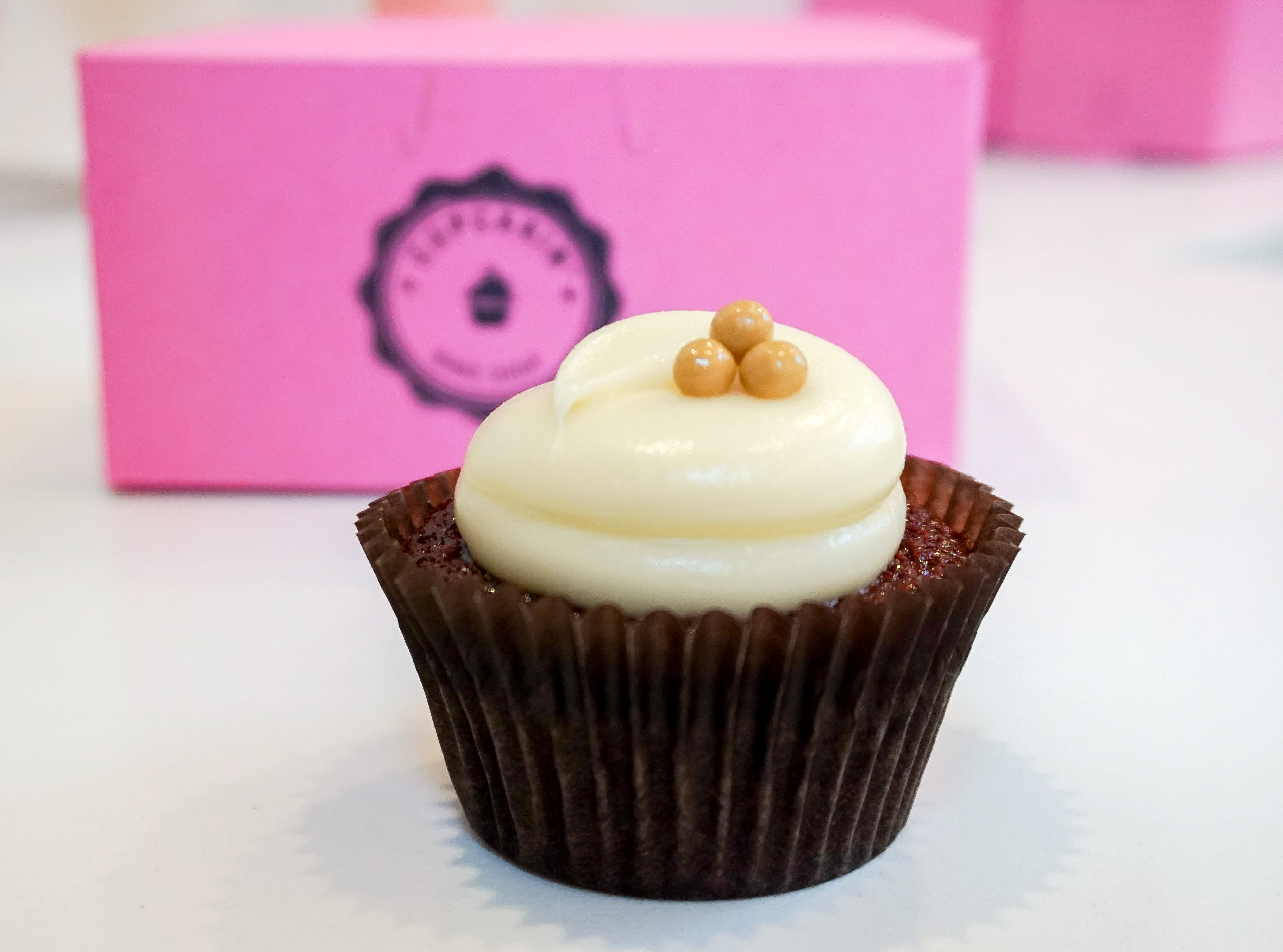 You are a Red Velvet cupcake!