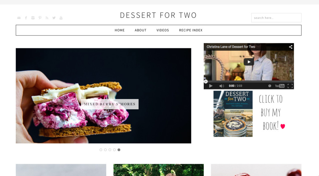 Screenshot of Dessert for Two
