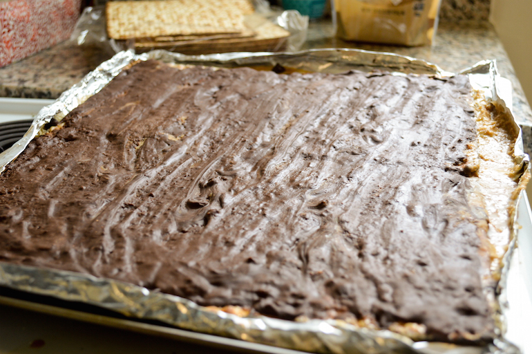 Matzoh Crack: The Only Passover Dessert You'll Ever Need