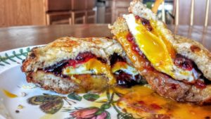 Up Your Brunch Game with This Sweet and Savory French Toast Sandwich