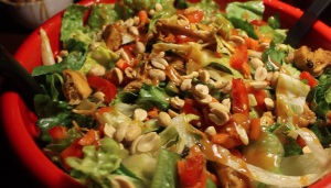 Don't Make Thai Chicken Salad Without This Spicy Peanut Sauce