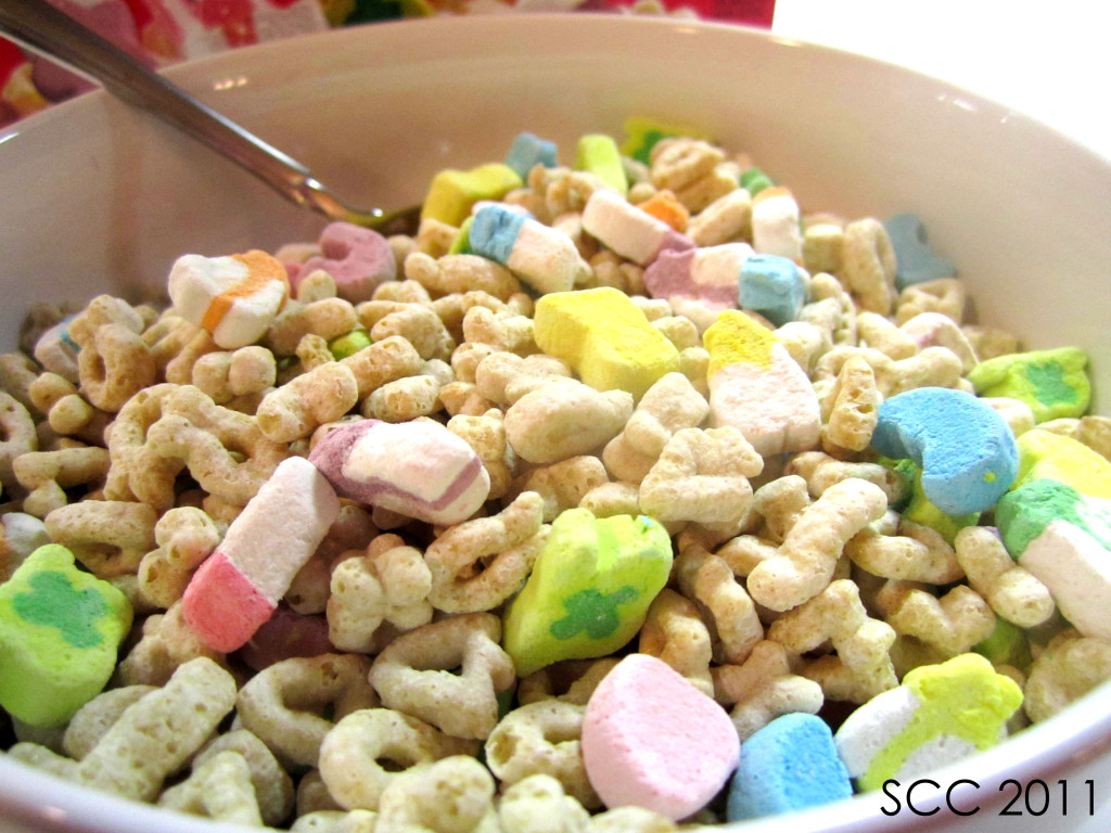 Lucky Charms is a brand of cereal produced by the General Mills food company since The cereal consists of toasted oat pieces and multi-colored marshmallow shapes (