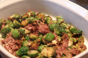 cook brussels sprouts