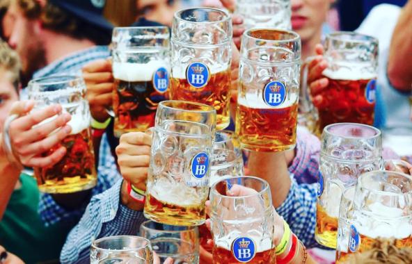 Germany Drink Beer Before Wine