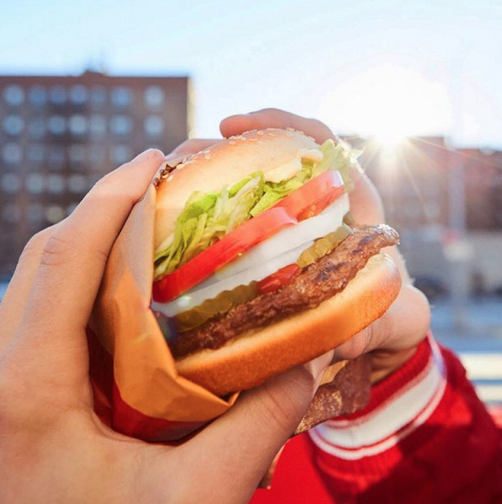 Photo courtesy of @burgerking on Instagram