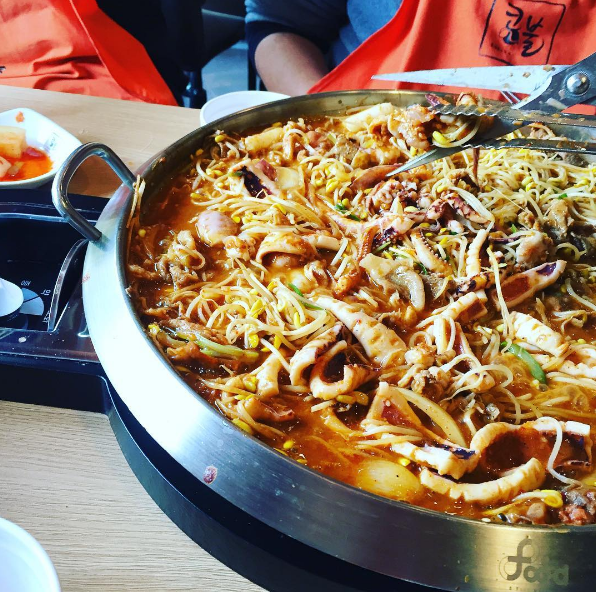 South Korean Dish