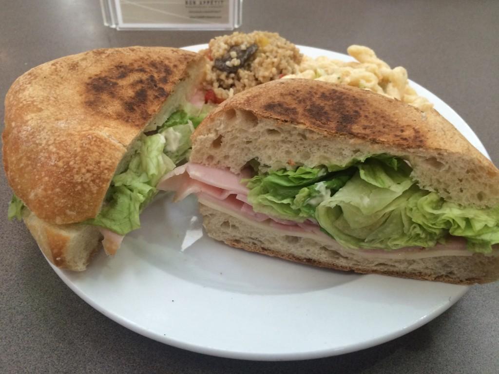 DUC deli sandwich