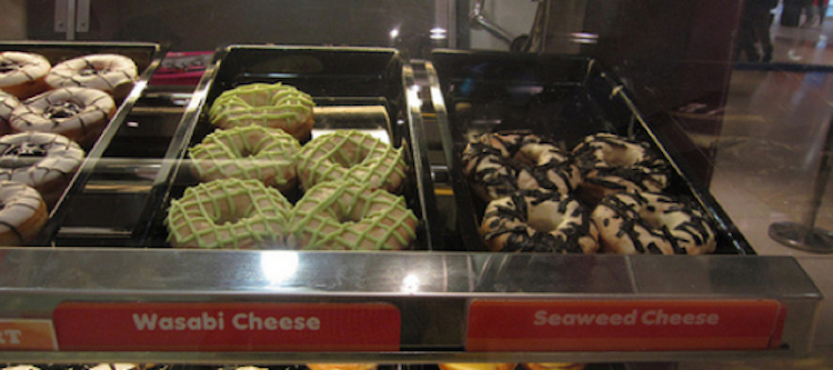 Wasabi Cheese Photo courtesy of inventorspot.com