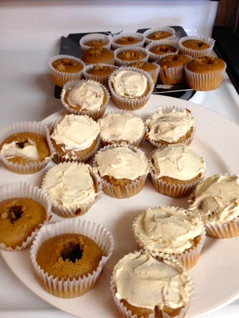 How To Make Starbucks Caramel Frappuccino Cupcakes