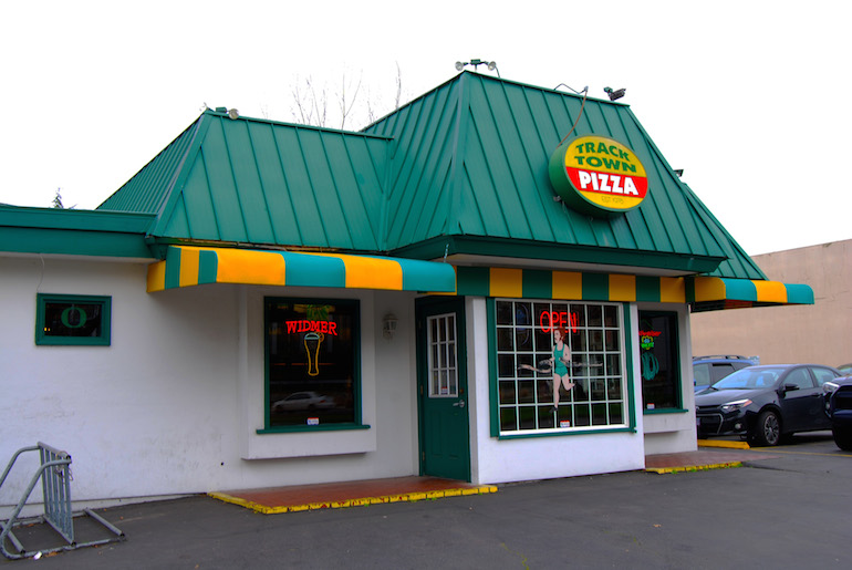 Oregon, Track Town, Pizza, Eugene, Track