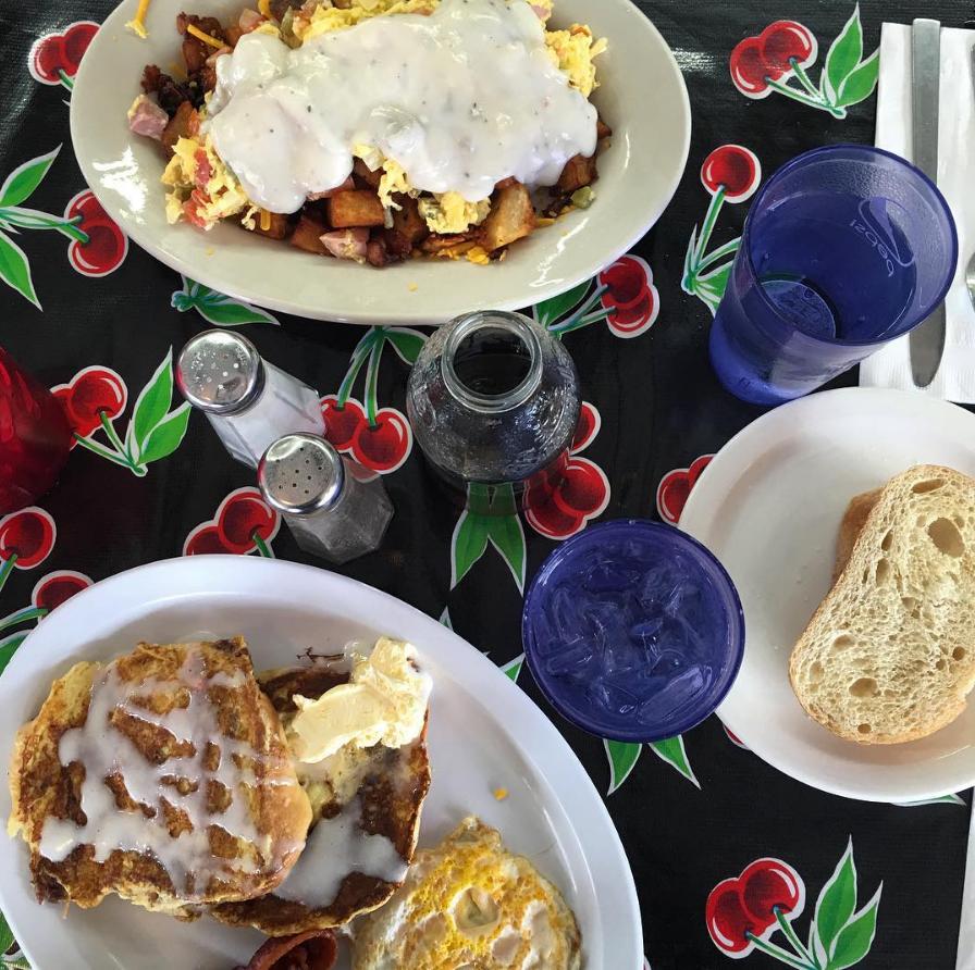 hungover breakfast in Eugene Oregon