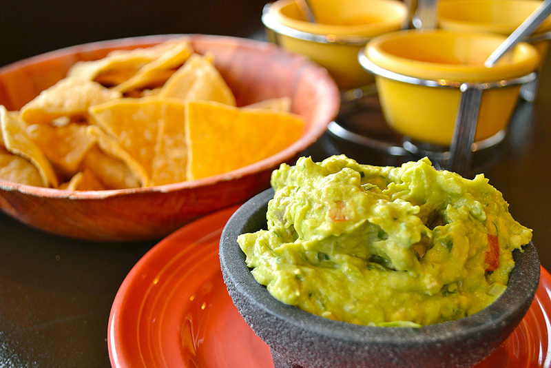 Guacamole and Chips Photo by Kristen Yang