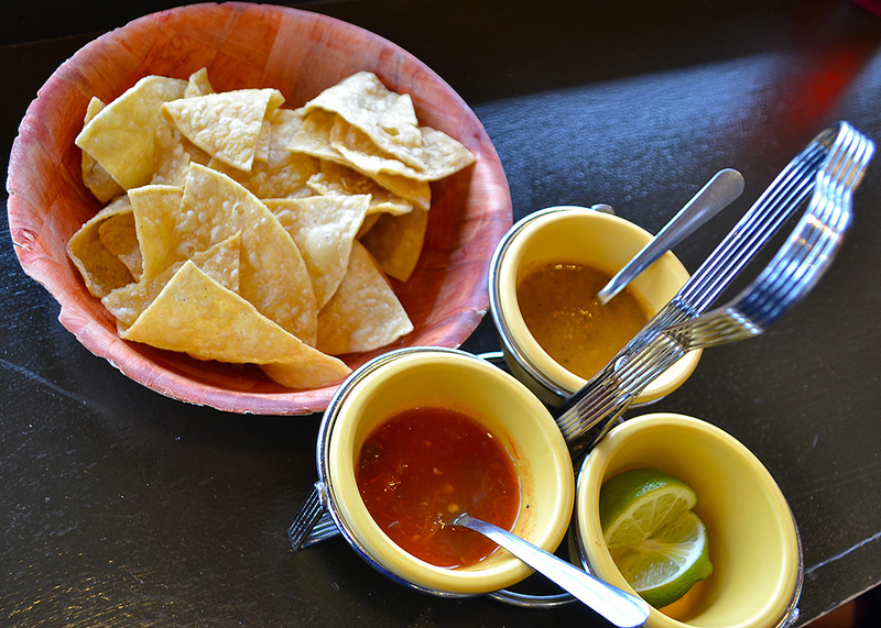 Salsa and Chips Photo by Kristen Yang