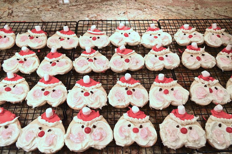 Santa Baby Sugar Cookies