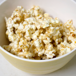 Microwaveable Caramel Popcorn
