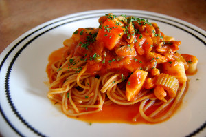 Upgrade Your Plain Pasta With This Spicy Lemon Seafood Sauce