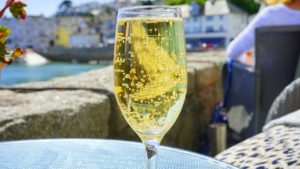 Here's Why The Champagne You're Drinking Probably Isn't Champagne