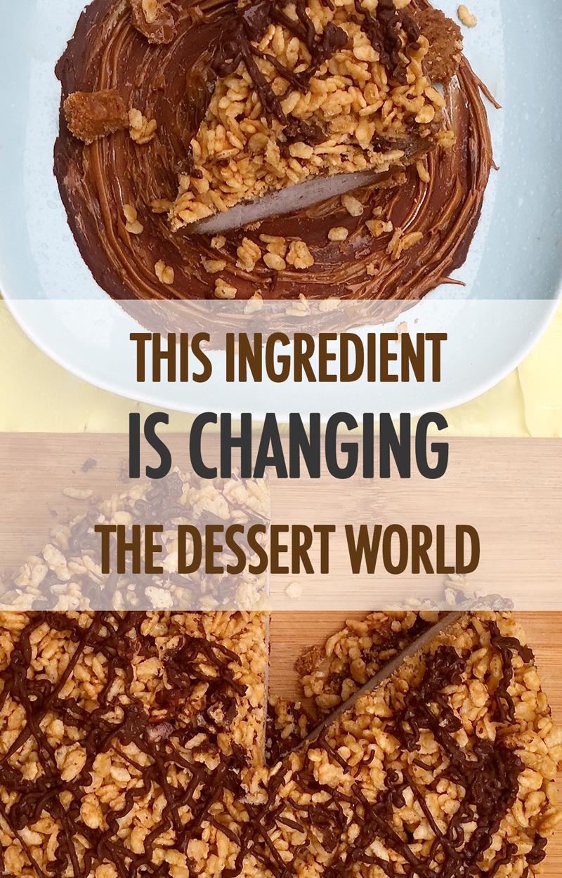 Vegan Chocolate Biscoff Crunch Ice Cream Cake