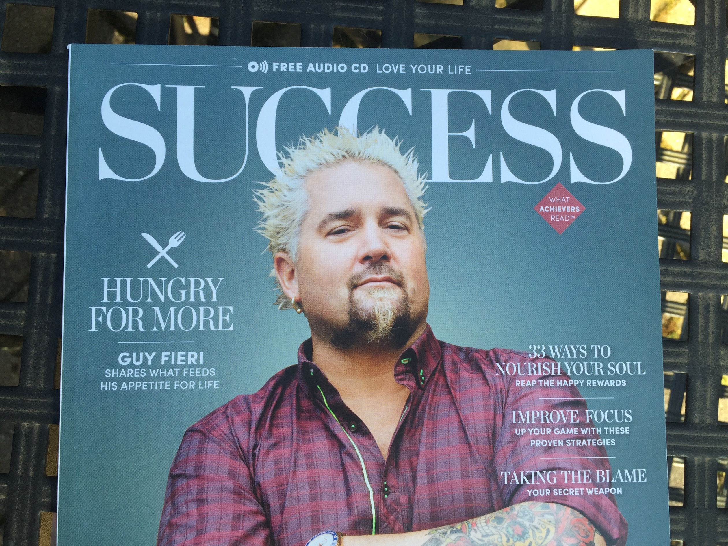Guy fieri quotes every college student needs to read
