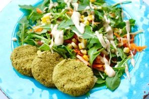 How to Make a Quick and Easy Tahini Salad Dressing