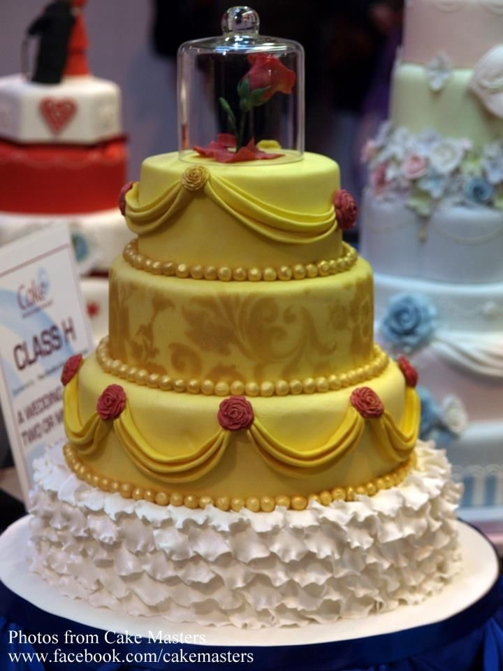 These Disney Inspired Wedding Cakes Are JawDropping