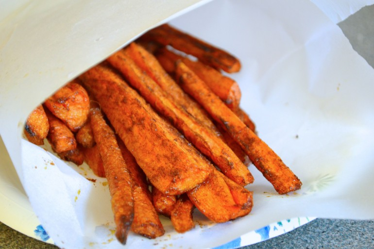 Oven-Baked Carrot Fries Recipes — Dishmaps