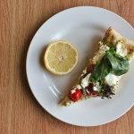 Goat Cheese & Arugula Pesto Pizza