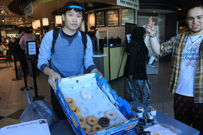 Manni's Donut Sale