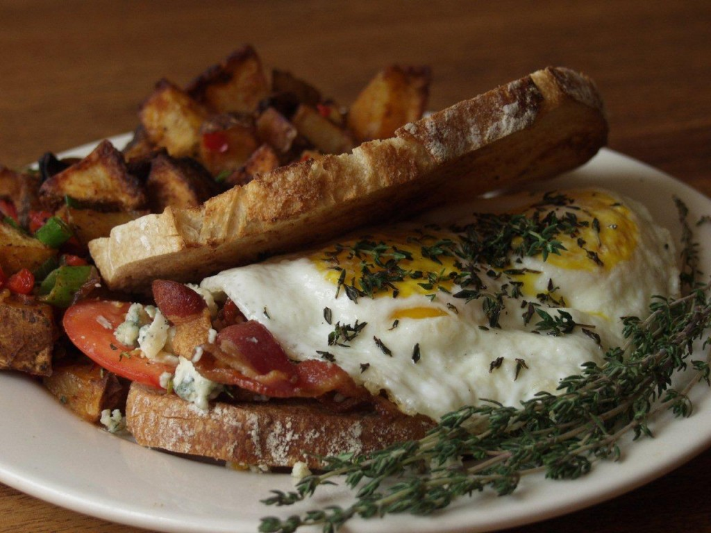 Fannie's Killer Fried Egg Sandwich