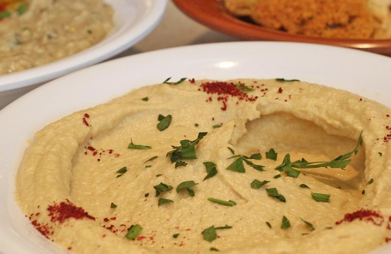 Hummus // Photo Courtesy Of Cedars Mediterranean Kitchen