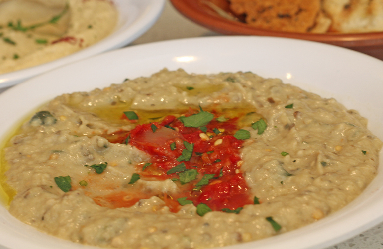 Baba Ghanoush // Photo courtesy of Cedars Mediterranean Kitchen