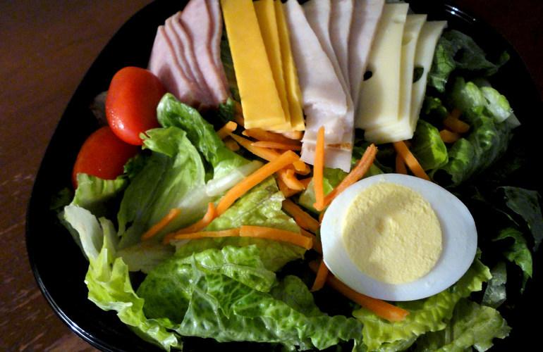 Salad & Sandwich Station