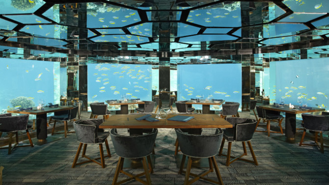 8 Underwater Restaurants You Must Visit Before You Die
