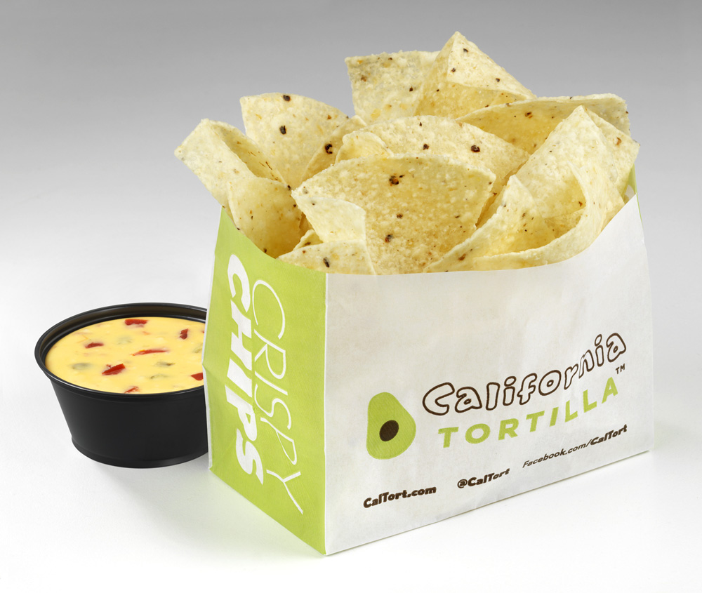 CalTor chips and queso