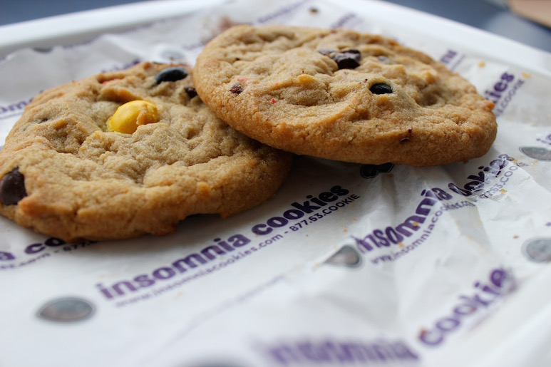 insomnia cookie flavors