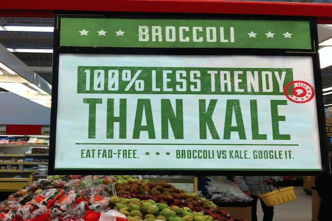 Broccoli v Kale