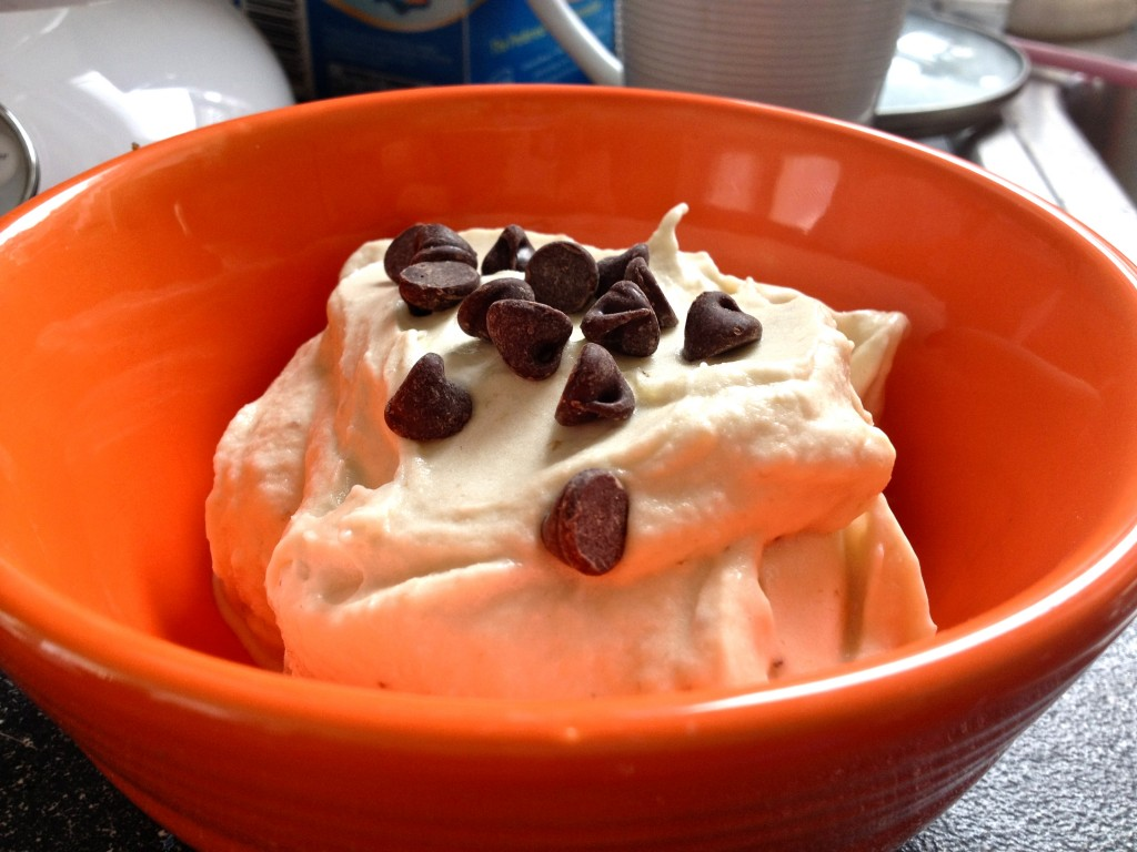 How to Spice Up Breakfast: Banana Ice Cream