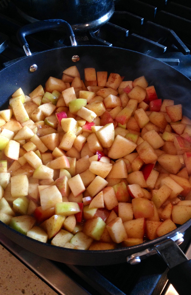 Easy Pumpkin Spiced Apples