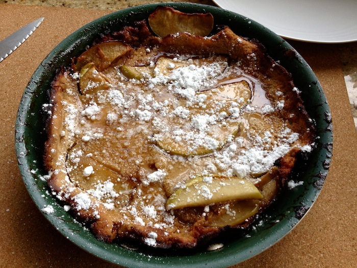 Apple Baby Pancake