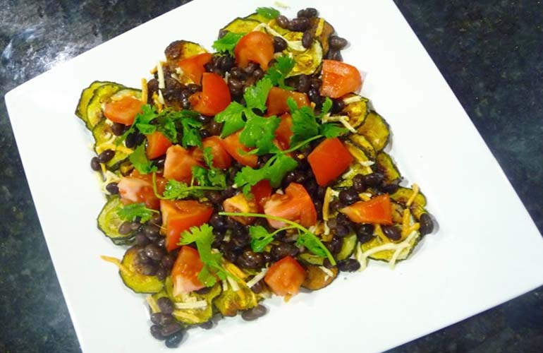 39 healthy things instead of salad healthy zucchini nachos forumfinder Choice Image