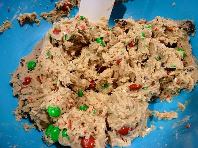 Day 8: Festive Funfetti Cookies