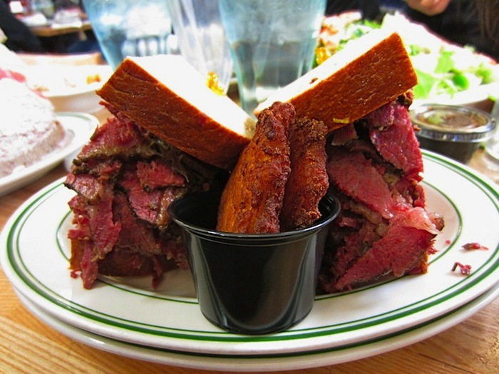 Between Bread: Corned Beef Sandwich from 4th Street Deli