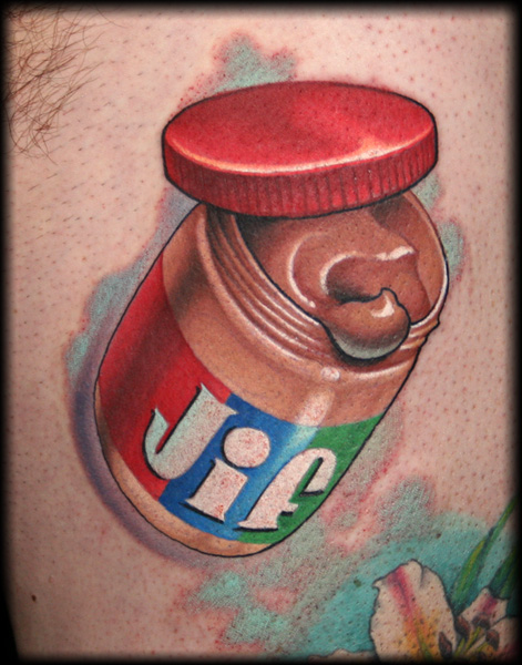 The Tastiest Food Tattoos Around