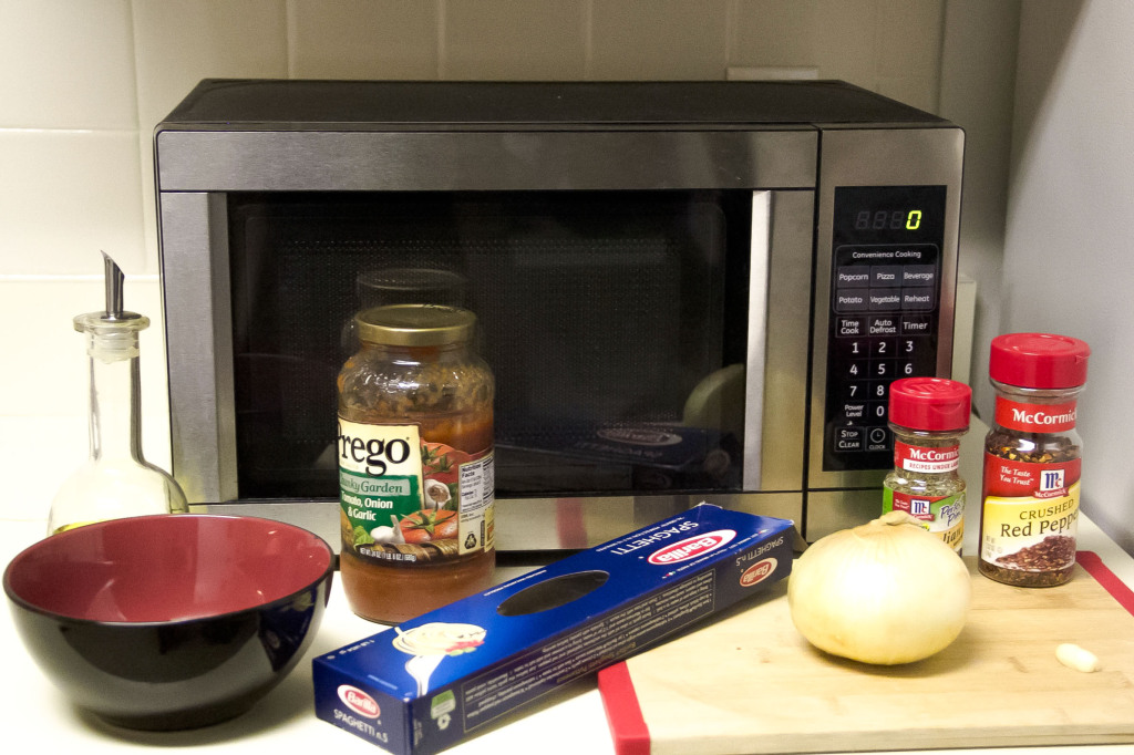 how to cook spaghetti in the microwave
