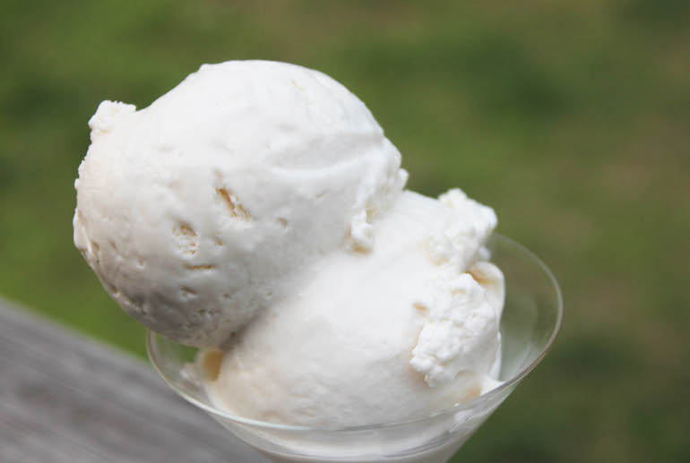 homemade Ice creams