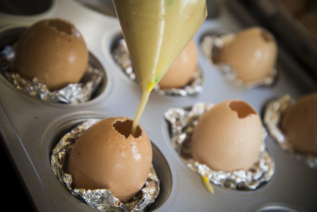 eggshell cakes