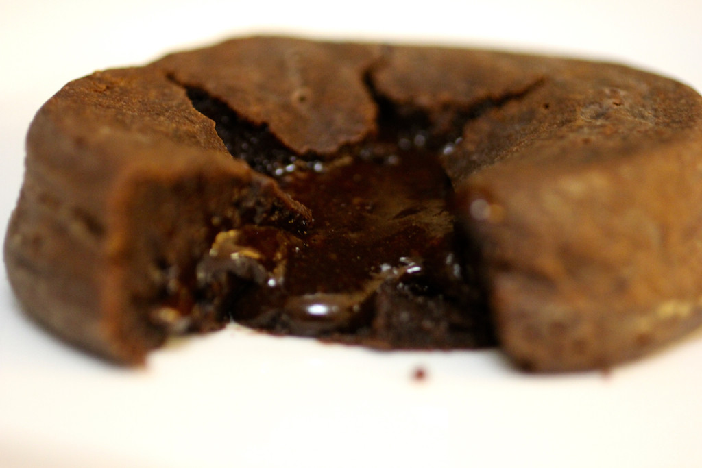 Espresso-Filled Molten Chocolate Lava Cake to Give You Life During Midterms