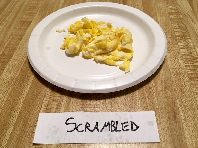 how to cook scrambled eggs nz